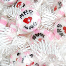 Mrs And Mrs Wedding Favour Rock Sweets
