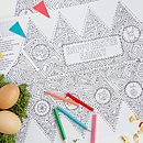 Colour In Easter Hats / Placemats Pack