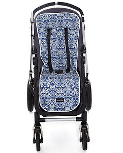 Liberty Print Lodden Buggy Liner - baby travel accessories