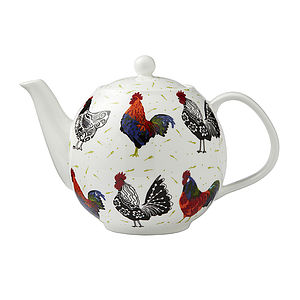 Rooster Teapot - teapots