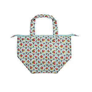 Rosy Dot Insulated Lunch Tote - picnics & barbecues