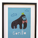 Children's Gorilla Print