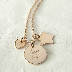 Personalised Symbol Necklace - charm jewellery