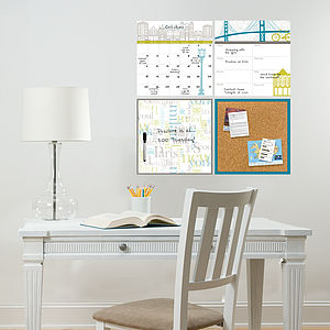 Be Organised Wall Sticker Set