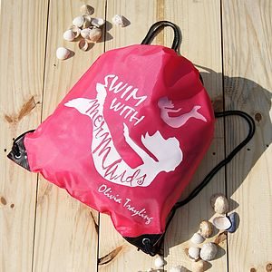 Personalised 'Mermaid' Swimming Bag - children's accessories