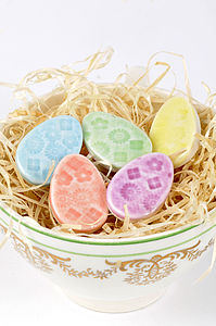 Five Mini Easter Egg Magnets