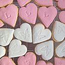Loveheart Cookies For Corporate Events
