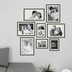 Personalised Photo Frame Wall Sticker - children's room