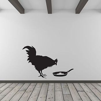 Banksy Chicken And Frying Egg Wall Art