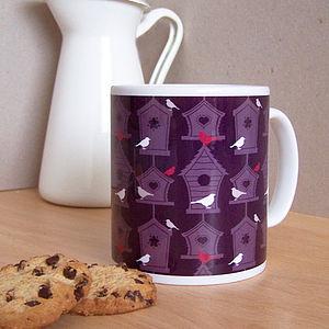 Birdhouse Mug