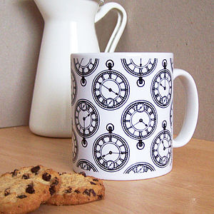 Pocket Watch Mug - mugs