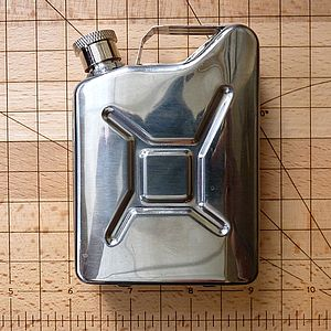 Fuel Can Hip Flask - food & drink gifts