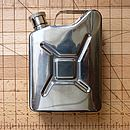 Car Lovers Jerry Can Hip Flask