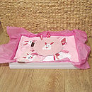 Example of our Baby Bunny gift hamper (Bessie Bunny)