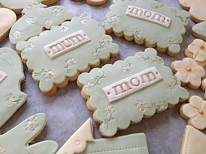 Box Of 'Mum' Gift Cookies Green - food & drink gifts