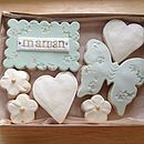 Box Of 'Mum' Gift Cookies Green