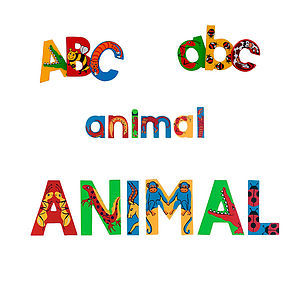 Children's Decorative Door Letters - children's room