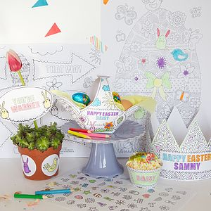 Personalised Easter Activity Kit