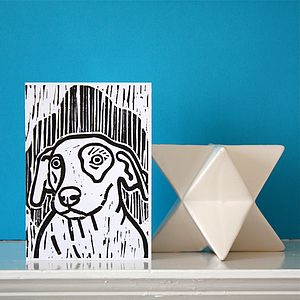 Dog Card - cards & invitations