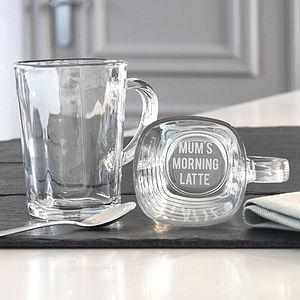 'Mum's Morning Latte' Mug - mugs