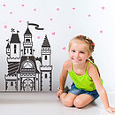 Magical Fairytale Castle Wall Sticker