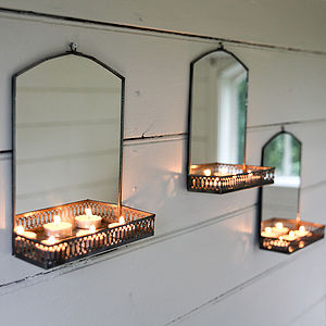 Mirror With Shelf - mirrors
