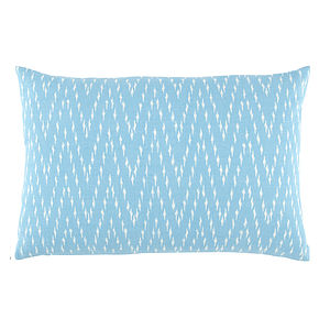 John Robshaw Khai Ikat Cushion - patterned cushions