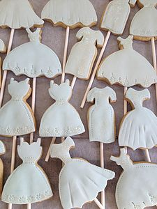 Dress Cookie Pops For Corporate Events - sweet treats