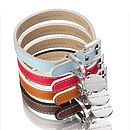 Saffiano Leather Dog Collar