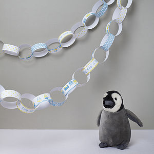 Baby Boy Paper Chain Kit