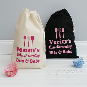 Personalised Kitchen Accessory Bag - laundry room