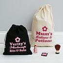 Personalised Makeup And Travel Bag