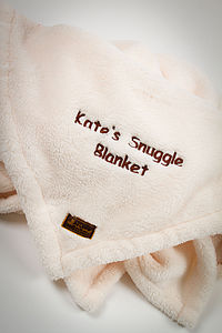 Snuggly Fleece Blankets - baby's room