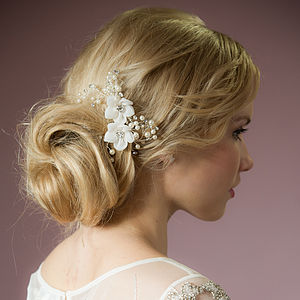 Vivian Crystal Hair Comb - view all sale items