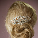 Charlotte Crystal Hair Comb