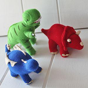 Mini Dinosaur Rattles - soft toys & dolls