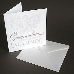 Engagement Congratulations Card - engagement cards