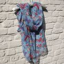 Butterfly And Flower Scarf