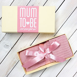 Personalised Mum To Be Bed Socks - women's fashion