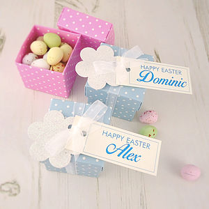 Personalised Easter Egg Chocolate Box