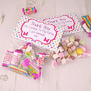 Personalised Pre Filled Party Bags