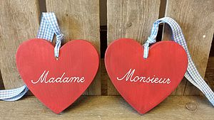 Madame And Monsieur Hearts