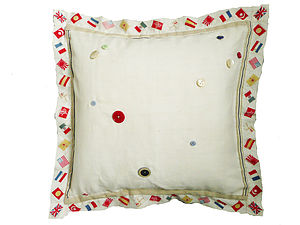 Flag Handkerchief Cushion - cushions