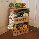 Personalised Vegetable Rack