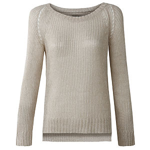 Juno Linen Knit Jumper