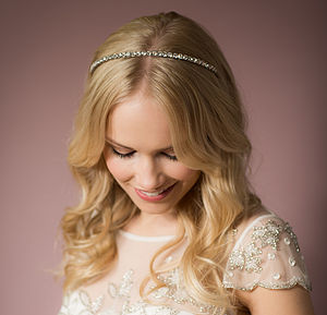 Kendall Crystal Hairband - bridal accessories