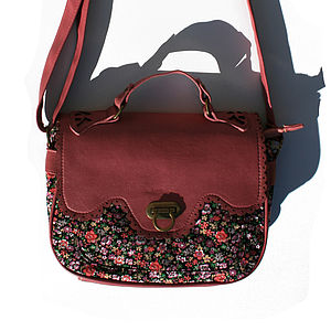 Ditsy Floral Vintage Style Satchel - bags & purses