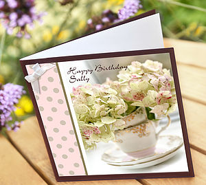 Garden Flowers Cards