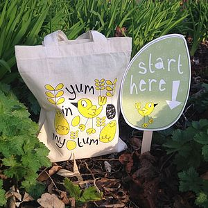 Easter Hunt Kit With Bag And Activity Bunting