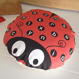 Children's Ladybird Alphabet Cushion - little extras for children